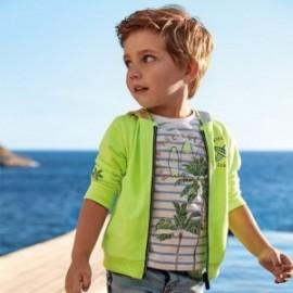 Bluza z nadrukami chłopięca Mayoral 3449-32 Zielony