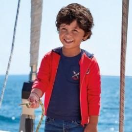 Bluza z nadrukami chłopięca Mayoral 3449-33 Czerwony