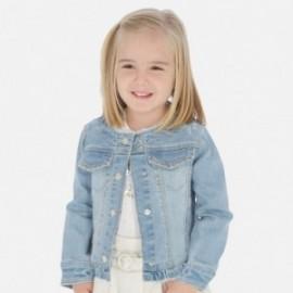 Kurtka jeansowa dla dziewczynek Mayoral 3467-94 Niebieski
