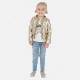 Spodnie jeans z paskiem dziewczęce Mayoral 3542-10 Jeans