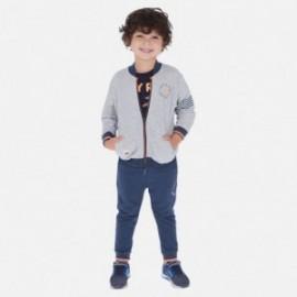 Dres 3-częściowy dla chłopca Mayoral 3813-86 Szary