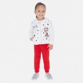 Dres 3-częściowy dla dziewczynki Mayoral 3819-60 Biały