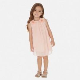 Sukienka plisowana dziewczęca Mayoral 3922-91 Pudrowy róż