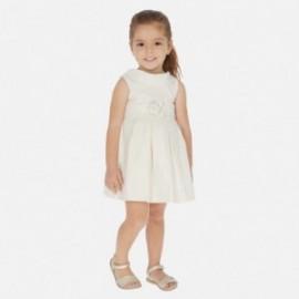 Sukienka metalizowana dziewczęca Mayoral 3927-2 Beżowy