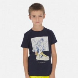Koszulka sportowa chłopięca Mayoral 6056-20 Granatowy