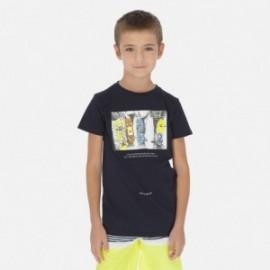 Koszulka sportowa chłopięca Mayoral 6059-14 Granatowy
