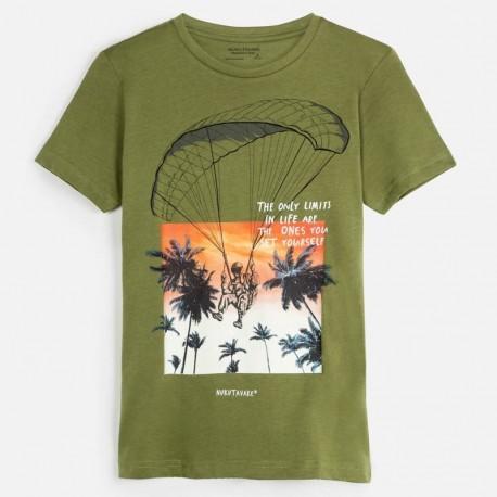 Koszulka sportowa chłopięca Mayoral 6061-57 Zielony