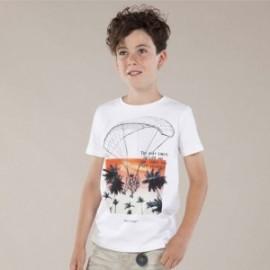 Koszulka sportowa chłopięca Mayoral 6061-56 Biały