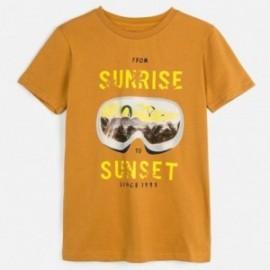 Koszulka sportowa chłopięca Mayoral 6062-68 Pomarańczowy
