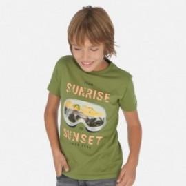 Koszulka sportowa chłopięca Mayoral 6062-66 Zielony