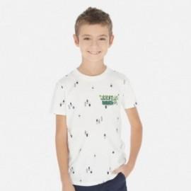 Koszulka sportowa chłopięca Mayoral 6071-21 Kremowy