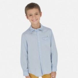 Koszula z długim rękawem chłopięca Mayoral 6157-41 Błękitny
