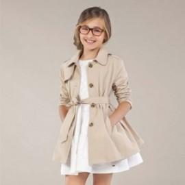 Płaszcz dziewczęcy Mayoral 6464-28 Beżowy