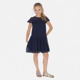 Sukienka elegancka dla dziewczynki Mayoral 6976-38 Granatowy
