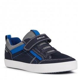Buty sneakersy chłopięce Geox J02A7E-014AF-C4226 granat