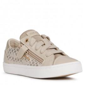 Buty sneakersy dla dziewczynek Geox J02D5B-007BC-C5000 beż
