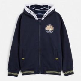 Bluza z kapturem chłopięca Mayoral 6444-62 Granatowy