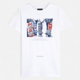 Koszulka sportowa chłopięca Mayoral 6059-16 Biały