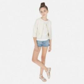 Szorty jeansowe dziewczęce Mayoral 6253-52 Jeans
