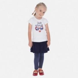 Leginsy ze spódniczką dla dziewczynki Mayoral 3717-36 Granatowy