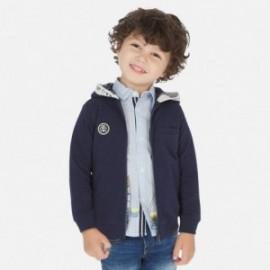 Bluza z kapturem dla chłopca Mayoral 3448-42 Granatowy