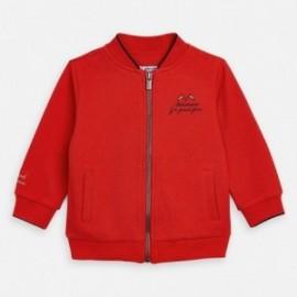 Bluza bez kaptura chłopięca Mayoral 3447-38 Czerwony