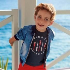 Kurtka jeansowa chłopięca Mayoral 3445-5 Jeans