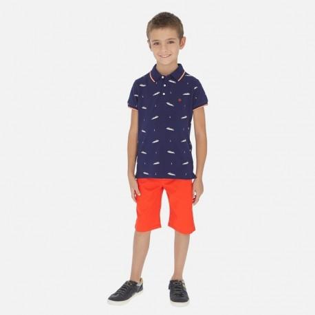 Bermudy dla chłopaka Mayoral 242-75 Pomarańczowy