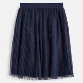 Spódnica plisowana dla dziewczynki Mayoral 6951-80 Granatowy