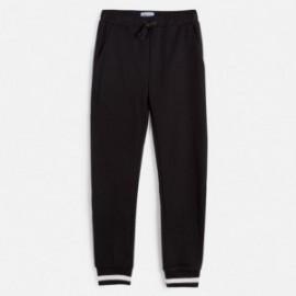 Spodnie dresowe dziewczęce Mayoral 6538-73 Czarny
