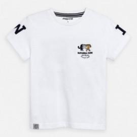 Koszulka z krótkim rękawem chłopięca Mayoral 3051-20 Biały