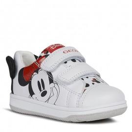 Buty sneakersy dziewczęce Geox B021HB-00085-C1000 białe