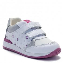 Buty sneakersy dziewczęce Geox B020LC-085AS-C0007 białe