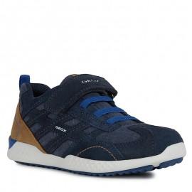 Buty adidasy dla chłopaka Geox J94ABA-02210-C4226 granat