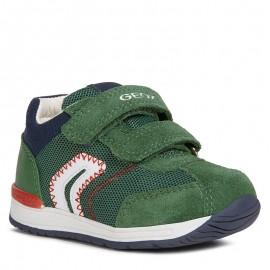 Buty sneakersy chłopięce Geox B940RB-01422-C3000 zielone