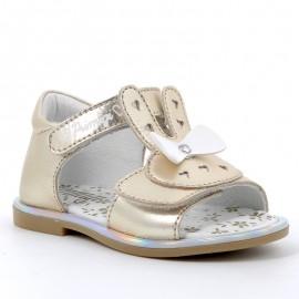 Buty sandały dziewczęce Primigi 5416000 złote