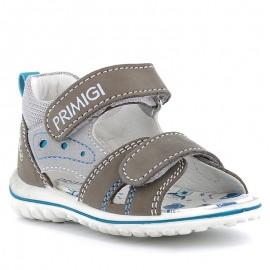 Buty sandały chłopięce Primigi 5365322 szare
