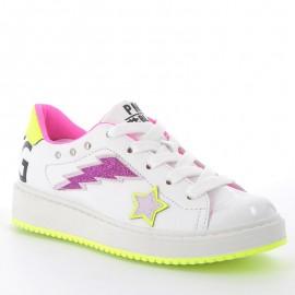 Buty sneakersy dziewczęce Primigi 5375400 białe