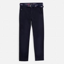 Spodnie z paskiem chłopięce Mayoral 6519-12 Granatowy