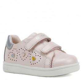 Buty sneakersy dziewczęce Geox B921WB-044AJ-C8237 róż