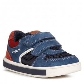 Buty sneakersy chłopięce Geox B0243A-02214-C4276 granat