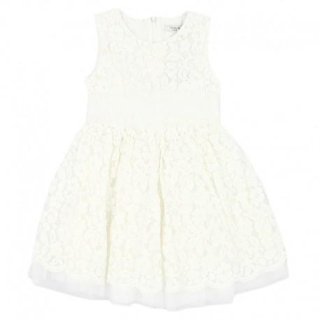 Sukienka koronkowa dla dziewczynki Trybeyond 99985599-15A krem
