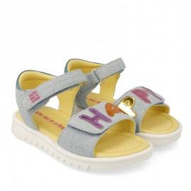 Sandały dla dziewczynki Agata Ruiz De La Prada 202960 niebieski