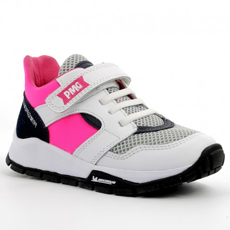 Buty sneakersy dla chłopca Primigi 5440733 biały