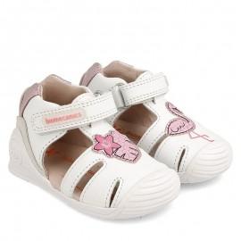 Sandały dziewczęce Biomecanics 202123 białe