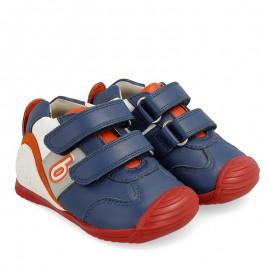 Sneakersy chłopięce Biomecanics 202148 granat