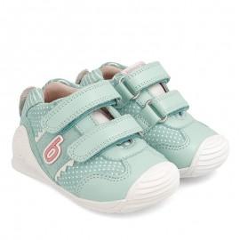 Sneakersy dziewczęce Biomecanics 202128 turkus