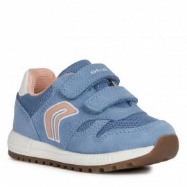 Buty sneakersy chłopięce Geox B023ZA-02214-C4094 niebieskie