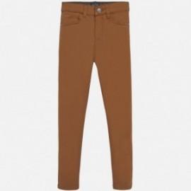 Spodnie regular fit chłopięce Mayoral 51-35 Brąz