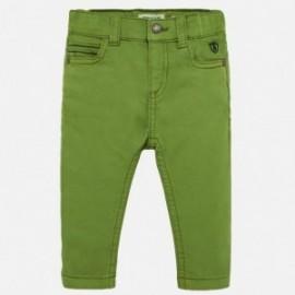 Spodnie serża dla chłopca Mayoral 2538-62 Zielony
